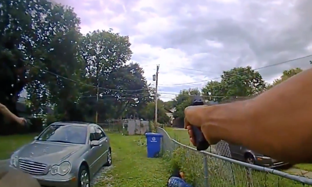 Newly Released Footage Shows Cops Fatally Shoot Armed Man [GRAPHIC VIDEO]