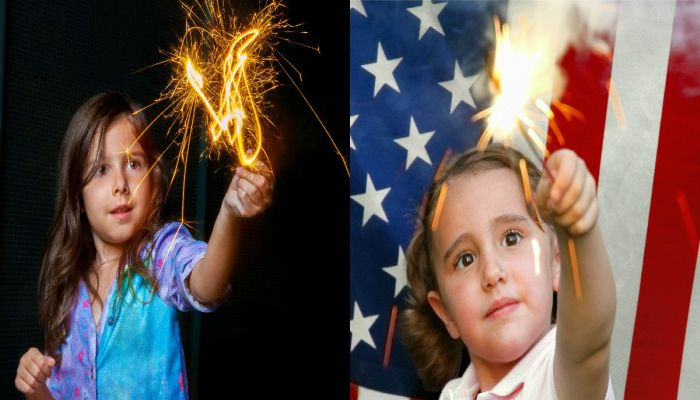 AMERICA 2017: Doctors Say Sparklers TOO DANGEROUS For Kids, Try BUBBLES AND POM-POMS