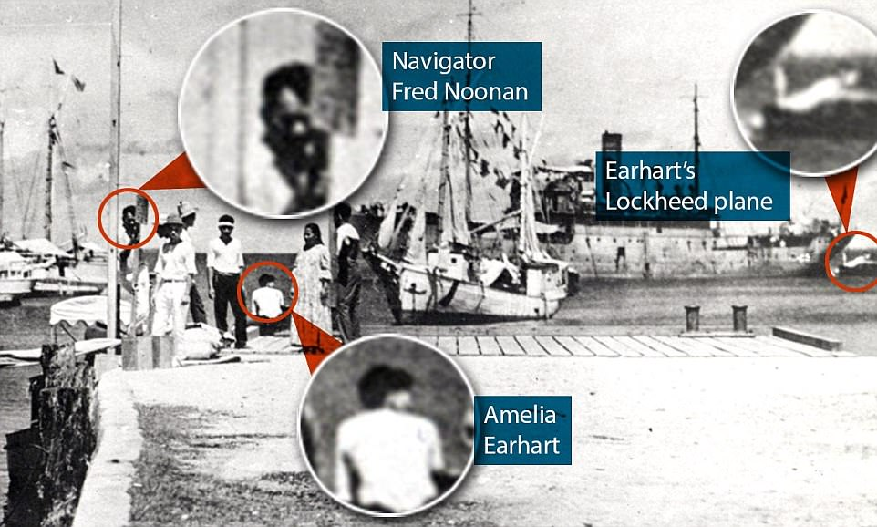 Picture Proves Amelia Earhart Did Not Die At Sea [PHOTOS]