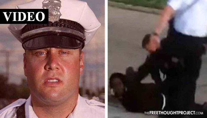 Ohio Cop Curb Stomps Handcuffed Man — Gets a 24-hour Vacation