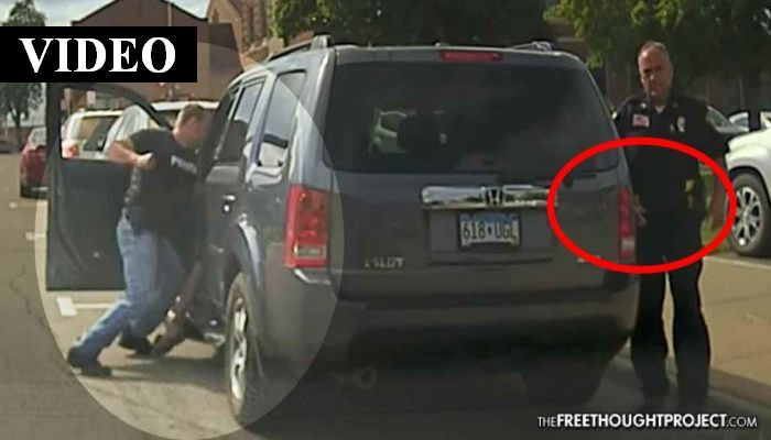 Dashcam: Cop Beats Man In Fit Of Road Rage As Fellow Cop Attempts To Cover It Up