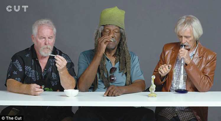 Watch Three Grandfathers Try Pot For the First Time [VIDEO]