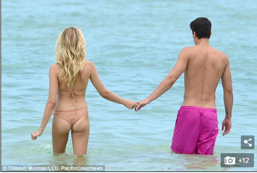 Hailey Clauson Shows Love on the Beach Among Other Things [VIDEO and PHOTOS]