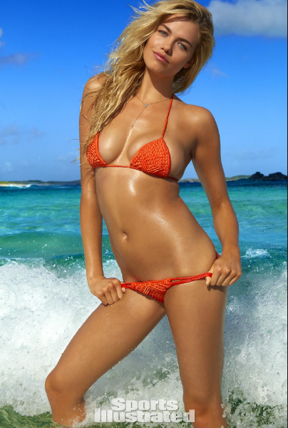 Hailey Clauson's Curves VS World's Smallest Bikini, Who Wins? [VIDEO and PHOTOS]