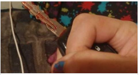 Photos Of This Woman's Bloody Keys Are Going Viral, And Now She's Warning Other Women