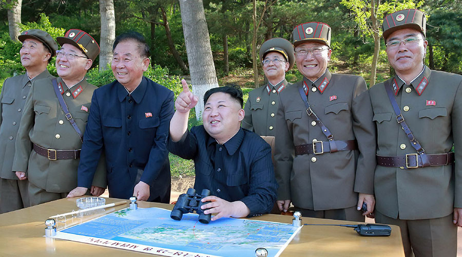 Kim Warns He Will 'Turn Self-destructive US Into Ash Pile'