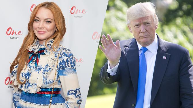 Lindsay Lohan Just Spoke Out On Her True Feelings About Trump [READ]