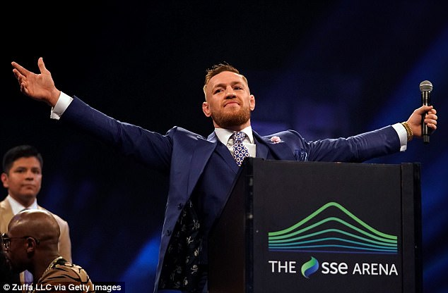 Conor McGregor Gets Lights Punched Out By Sparring Partner