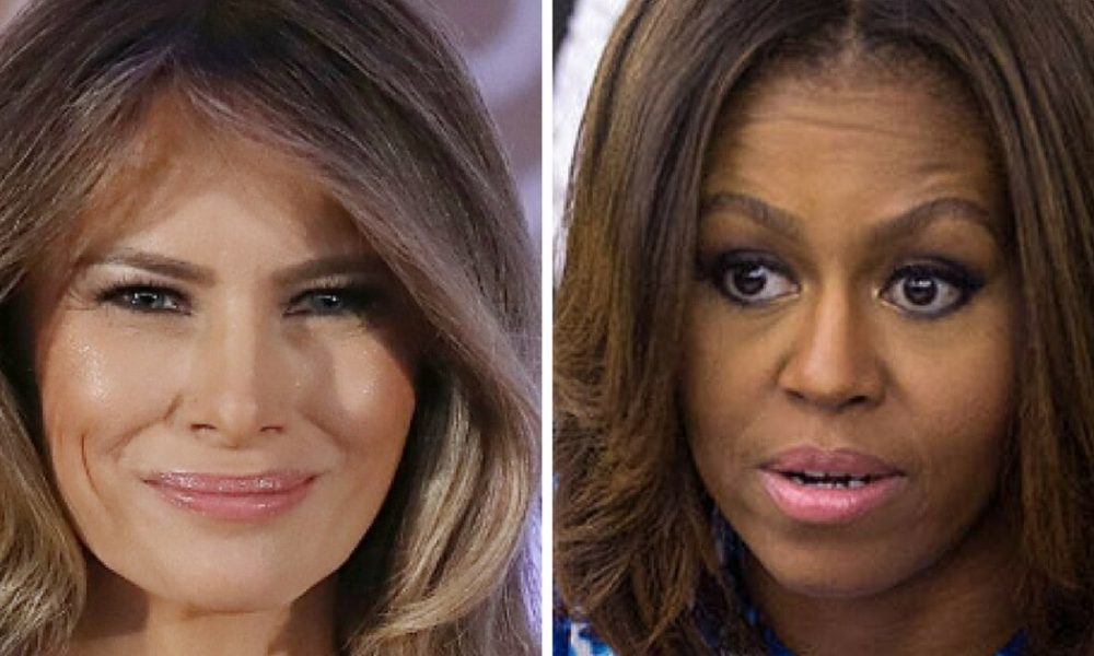 Trump Admin Just Shared Huge Difference Between Melania And Michelle Obama [VIDEO]