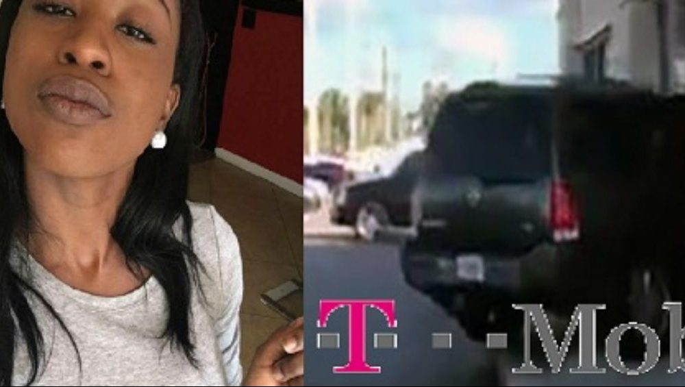 Woman Plows Through Front Of T-Mobile Store Because They Wouldn't Replace Her Iphone [VIDEO]