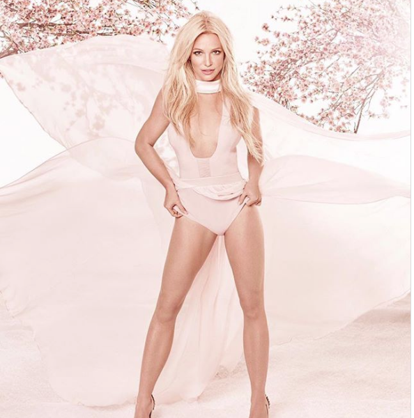 Watch This Impressive Workout By Scantily Clad Britney Spears [VIDEOS and PHOTOS]