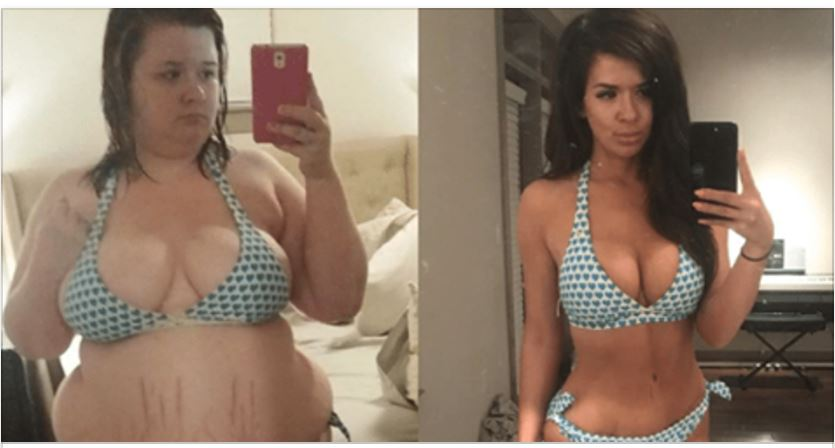 For This Woman, Losing Half Her Weight Meant Changing Her Mindset [PHOTOS]