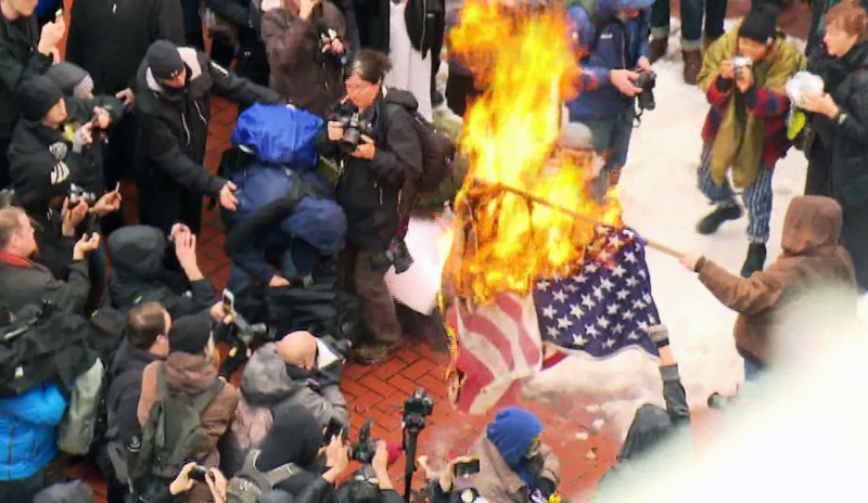 First Inauguration Rioter Learns His Fate and He's Not Happy