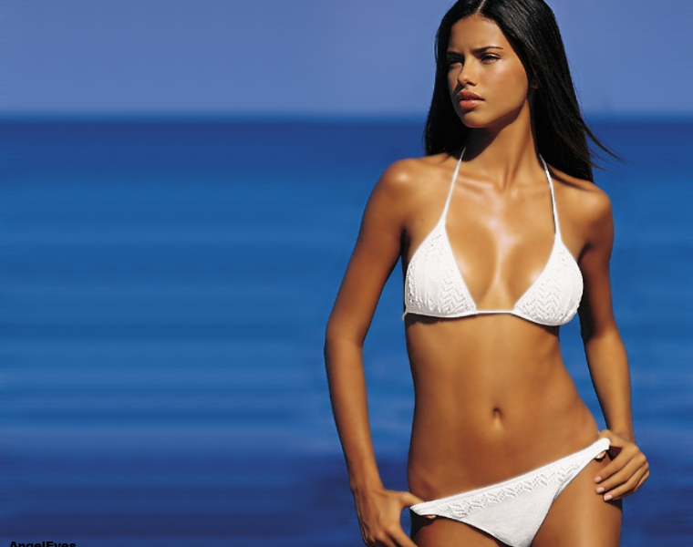 Adriana Lima's Picture Too Hot For Instagram, But We Have It [PHOTOS]