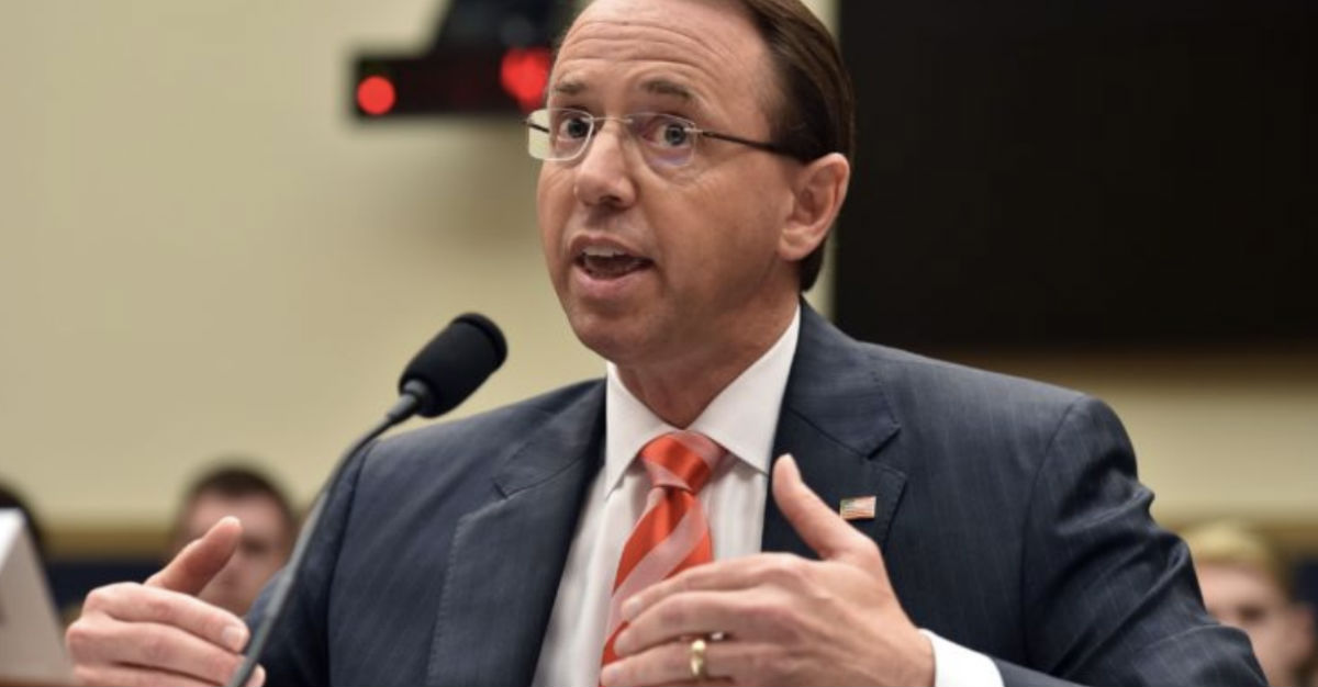 Here Is The Moment From Rosenstein's Testimony That Everyone Should Be Discussing, But No One Is