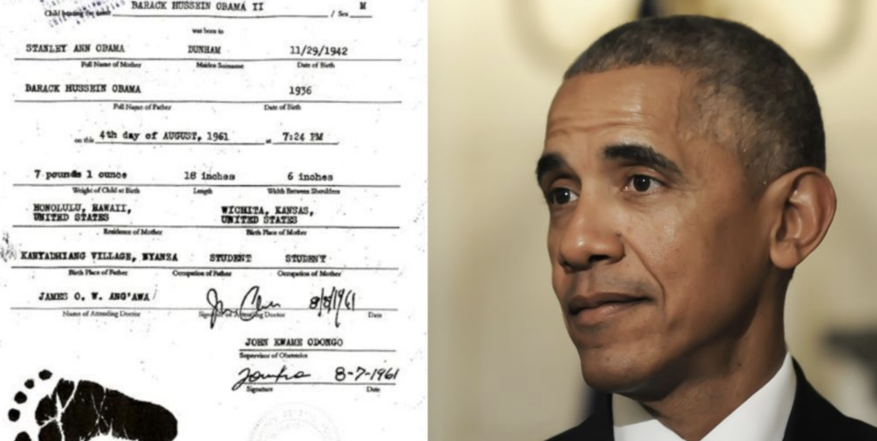 Obama's Real Birth Certificate Just Leaked..Was Trump Right The Entire Time?