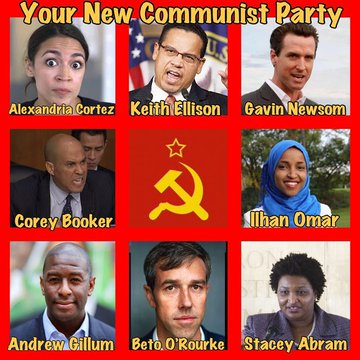 If You Want A Communist USA, Vote Democrat on Tuesday