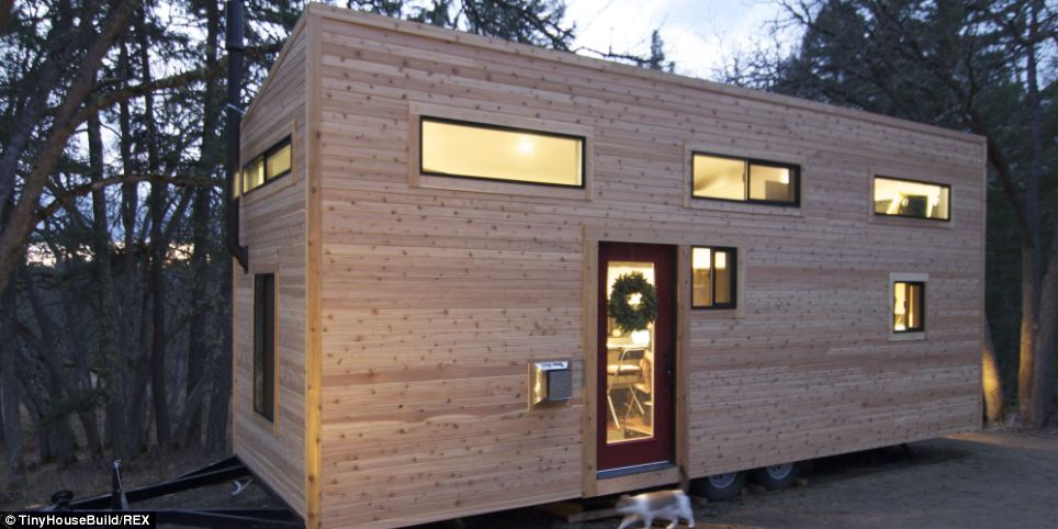 Their Tiny Home Didn't Look Like Much From The Outside…Then I Stepped In And HOLY COW!