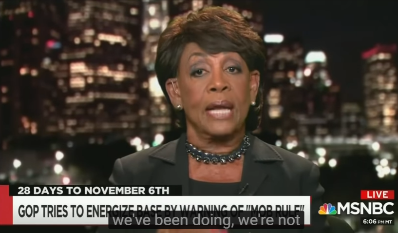 What Mad Maxine Waters Just Called Trump On Live TV Is About To Set The President's Twitter Account On Fire!