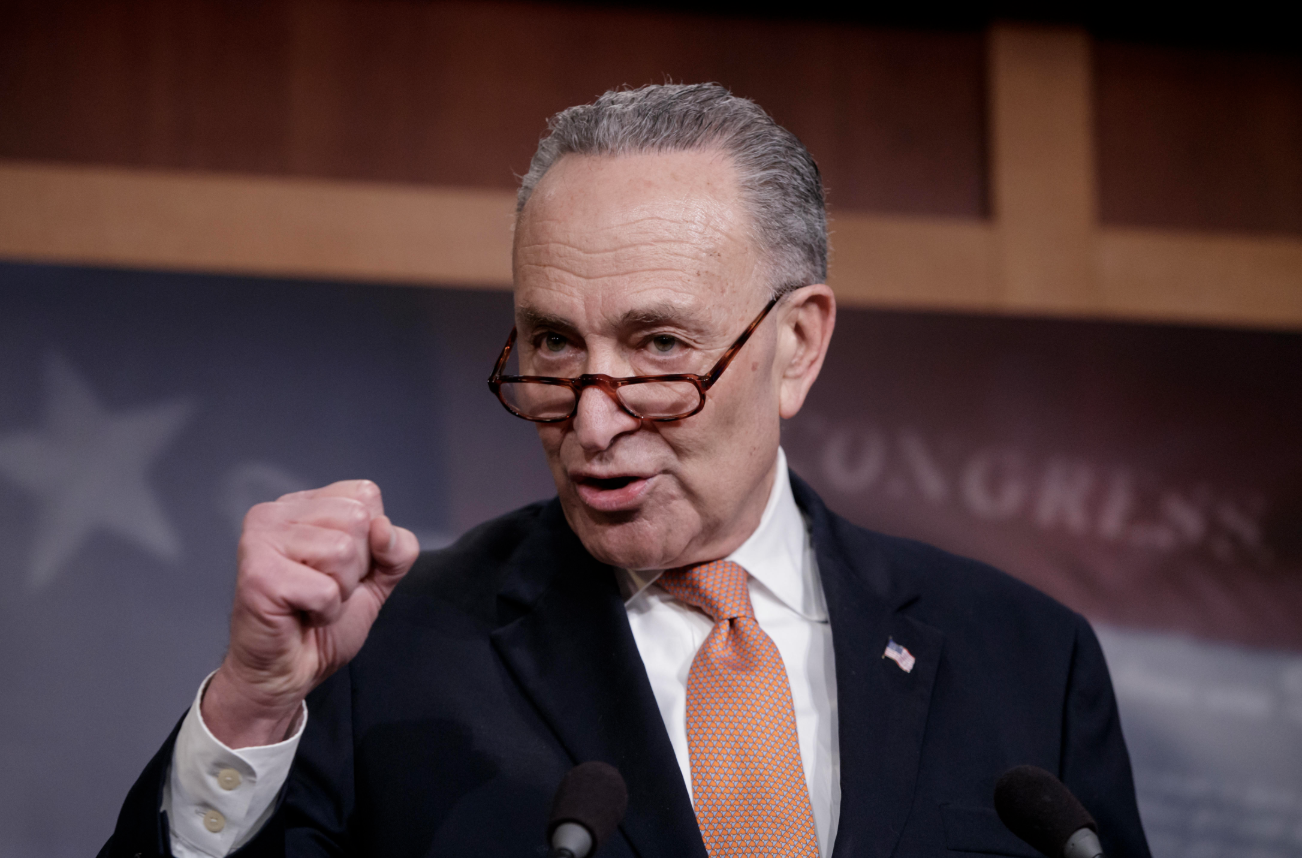 Schumer Yells For Special Session Of Congress To Address Emergency Gun Control Legislation