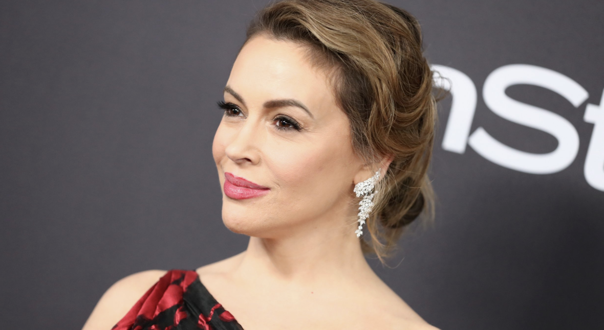 Alyssa Milano Pats Herself On The Back Over 'Brilliant New Plan' To Defeat Trump