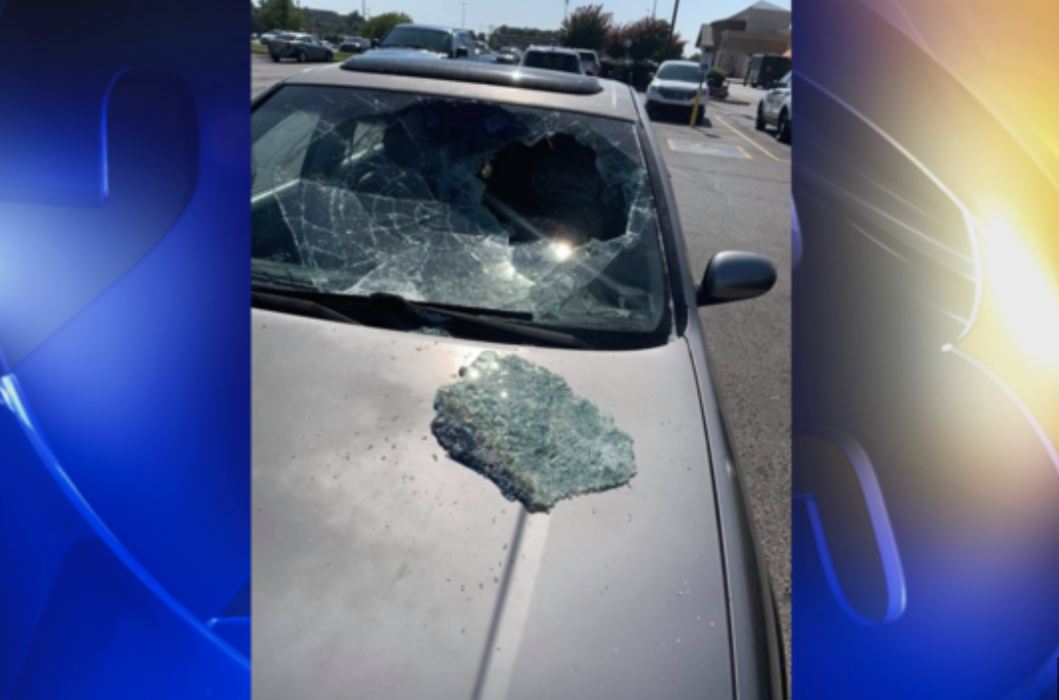 HERO: 12-Year-Old Boy Breaks Car's Windshield To Save Young Child Trapped Inside