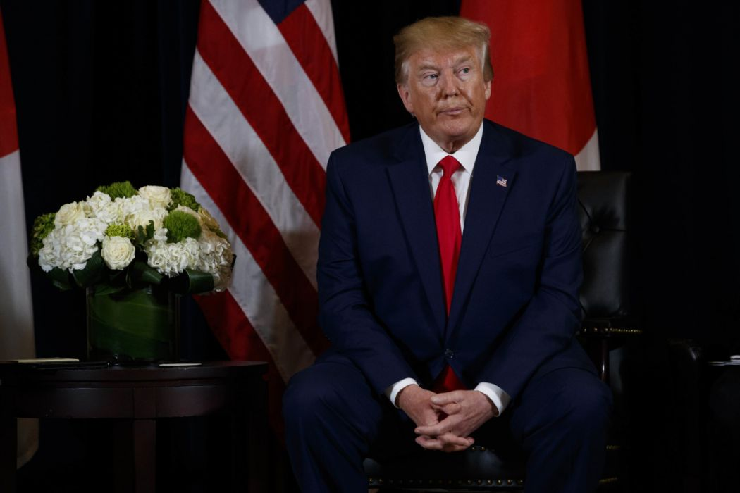 President Trump Declares National Emergency, US To Take Back Control of…..