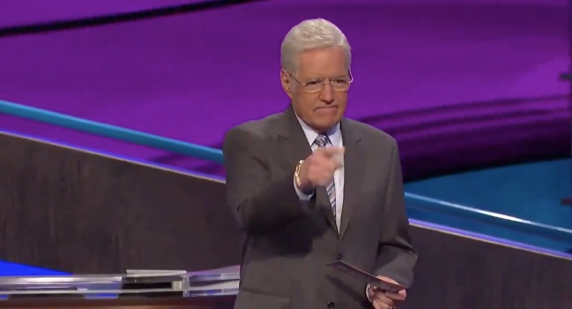 Alex Trebek Chokes Back Tears After Surprise 'Final Jeopardy' Question [WATCH]