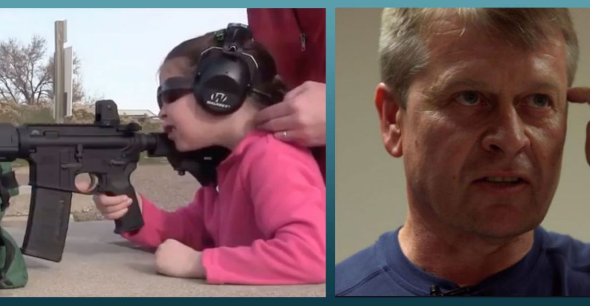 Liberal Claims Shooting an AR-15 Gave Him PTSD, So 7-Year-Old GIRL Shows Him How It's Done