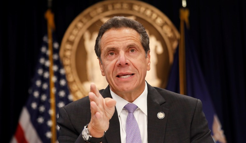 IT'S FALLING APART! NYC Mayor Turning On Granny Killer Cuomo!
