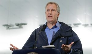 NYC Mayor Bill de Blasio: I'm Laying Off 22,000 City Workers if the Feds Don't Give Us a Bailout (VIDEO)