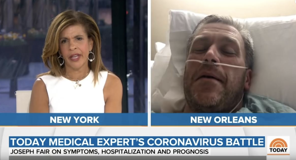 NBC Guest Doctor Who Was Suffering from Coronavirus in Hospital in TV Interviews — NEVER HAD CORONAVIRUS! (VIDEO)