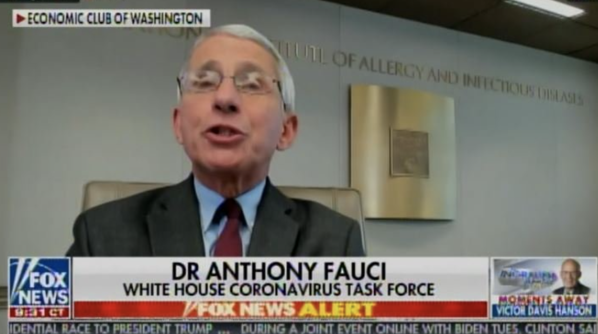 Democrats Defend Fauci After White House Puts Out List of His (Deadly) Coronavirus Mistakes