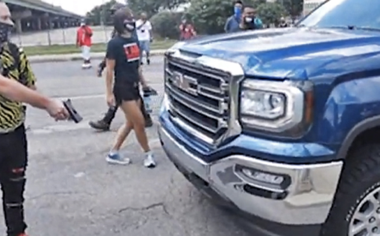 Indianapolis BLM/Antifa threaten drivers at GUNPOINT for trying to use their city streets as streets