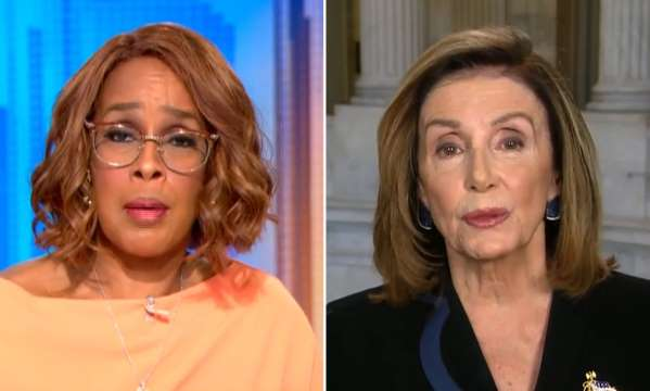 """The Left """"Cancels"""" Oprah's Bestie CBS Anchor Gayle King After She Calls Out Pelosi"""