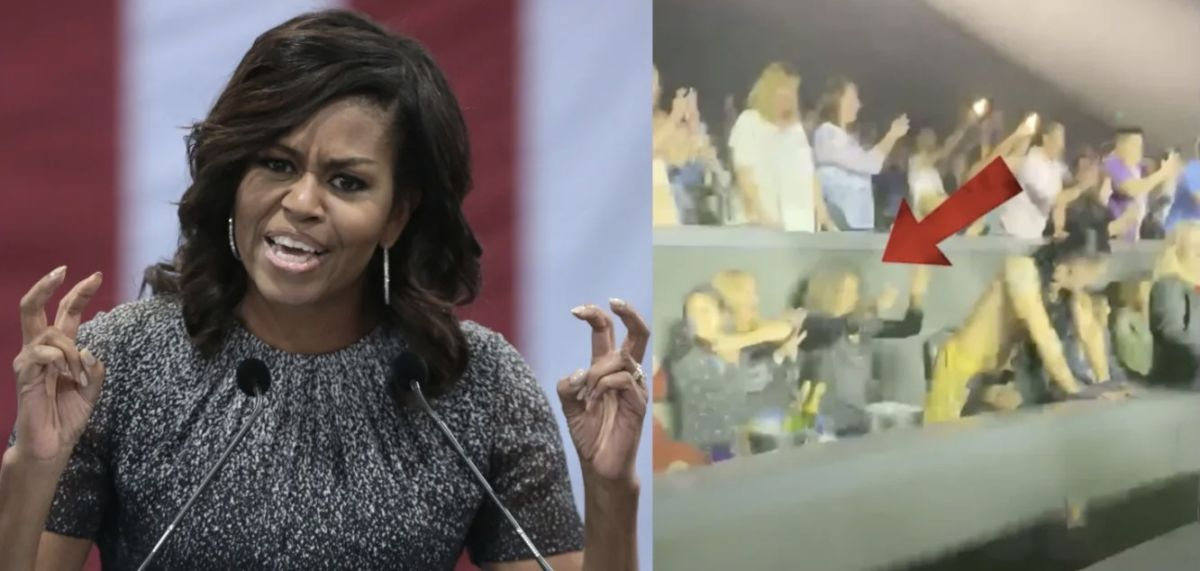 Michelle Obama Turns Heads After 'Inappropriate' Video Of Her At Vegas Show Surfaces