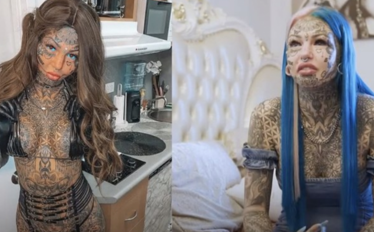 WHOA: Woman Who Spent $120k Modifying Her Body Shares Photo Of Herself BEFORE Transformation