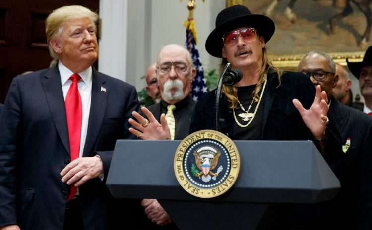 What Kid Rock Just Did To Roast Liberals Was Absolutely Classic!