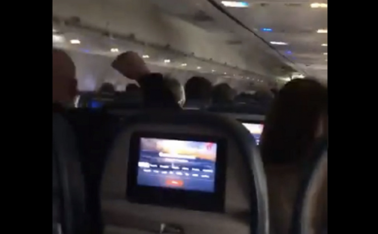 Romney Boards Flight to DC FILLED With Patriots Who Chanted 'Traitor' & That's Not All