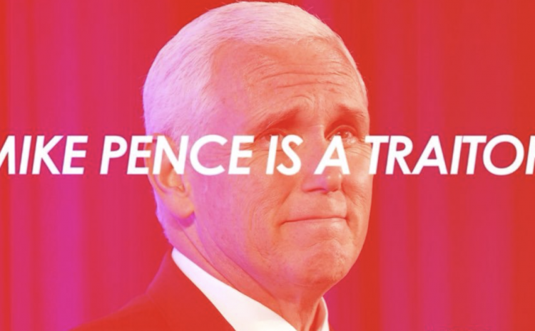 Traitor Mike Pence Certifies Biden's Election 'Victory'