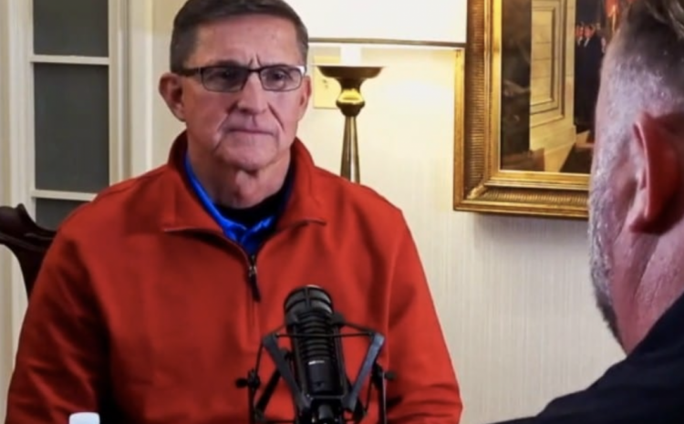 "General Flynn Confidently States: ""Trump Will Be President The Next 4 Years"" [WATCH]"
