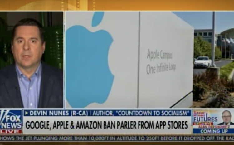 "Rep. Nunes Calls for Criminal Charges Against Tech Giants- ""These CEOs Who Are Doing This Should Be Prosecuted Criminally"""