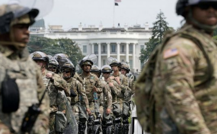 Biden Inaugural: National Guard Troops Authorized to Use Lethal Force as D.C. Turns Into Police State