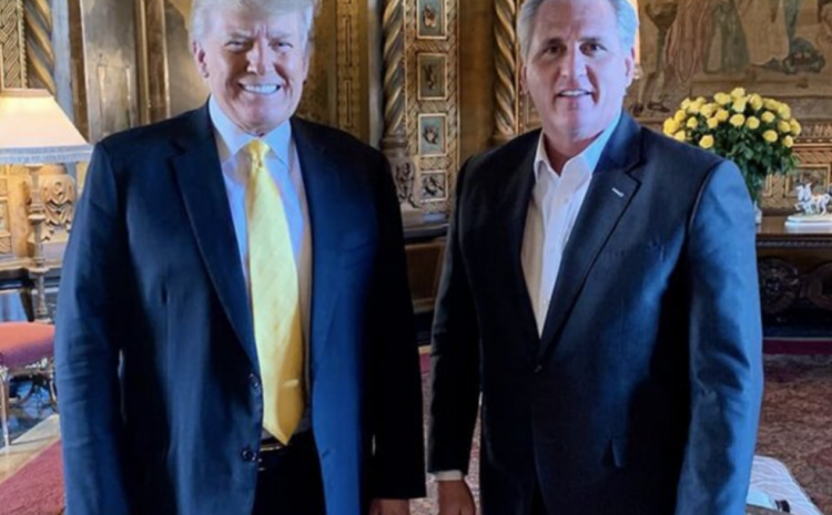 JUST IN: Details Emerge From President Trump's Private Meeting With Kevin McCarthy