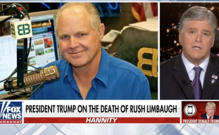 IN CASE YOU MISSED IT: Trump Appears On Hannity To Remember The Great Rush Limbaugh