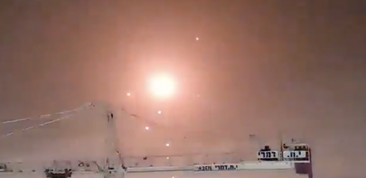 WATCH Incredible Video: Israeli Iron Dome Intercepts Hundreds of Rockets Launched