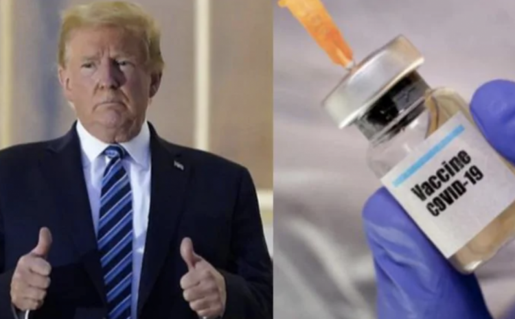 This Is The REAL Reason President Trump Is Pushing The Vaccine!