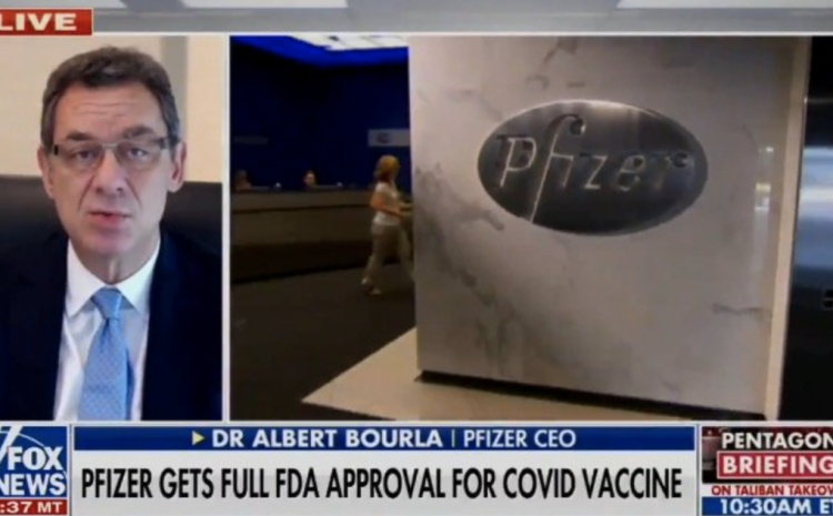 Pfizer CEO Just Said Something REALLY Strange About Variants!