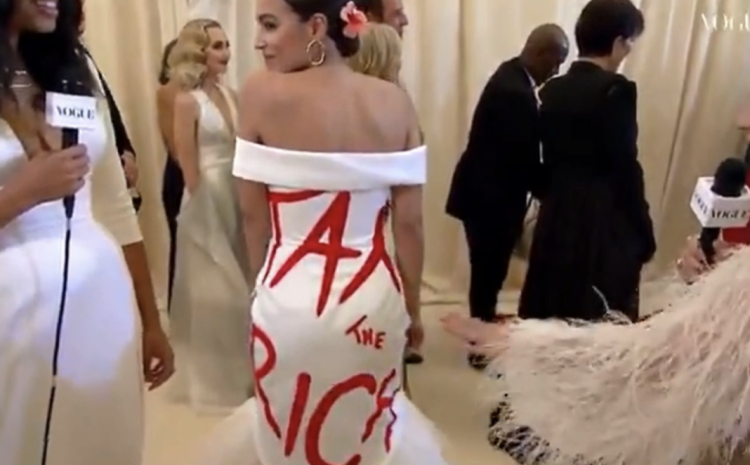 """AOC Wore Her """"Tax The Rich"""" Dress…..The Backlash Was EPIC!"""