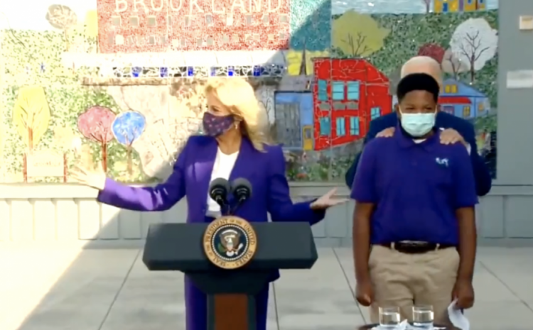 What Joe Biden Did On Camera To This Young Boy Is Just Beyond Strange!